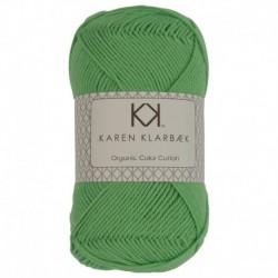 Karen Klarebæk Bomuld 8/4-Lime Grøn 15-20