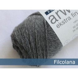 Anina (tidligere arwetta ekstra fin Merino)-955 Mellemgrå (melange)