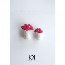 Hæklede svampe - Karen Klarbæk
