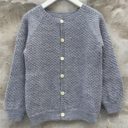 træk over cardigan p032