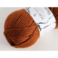 Peruvian Highlander wool | Burnt Sienna (melange) 832