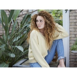 Lemonia - en klassisk sweater med V-hals
