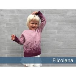 Stjernedrys fra Filcolana Pernilla garn