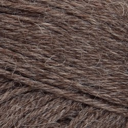 Mini Alpakka | Mellembrun meleret 2652