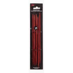 Røde strømpepinde 20 cm