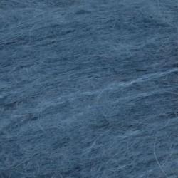 Børstet Alpakka - 96% Alpakka 4% Nylon-6042 Mørk himmelblå