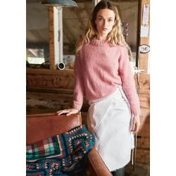 Yndlingssweater tynd silkmohair