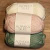 Alpakka Silke 70% babyalpakka 30% Mulberry Silke-015