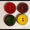 Glaserede kokosknapper 30 mm-01