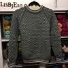 Drenge sweater med lys Færdigstrik