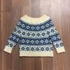 Sweater med mønster færdigstrik