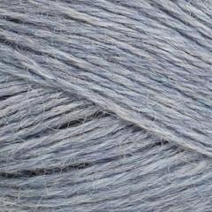 Mini Alpakka-Lys Blåmeleret 6221