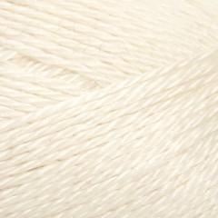 Alpakka/silke | Hvid 1002
