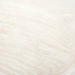 Børstet Alpakka-Hvid 1001