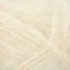Børstet Alpakka-Hvid 1012