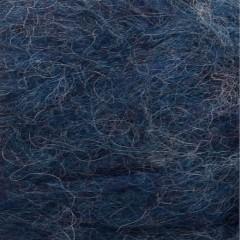Børstet Alpakka-Inkblå 6060