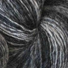 1 trådet farveskifte garn - Hjelholt-Lysgrå/mellemgrå/ mørkgrå