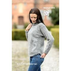 Mohairsweater med rillemønster - Model 004