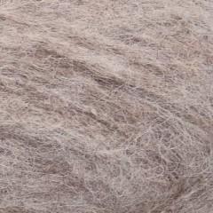 Børstet Alpakka - 2650 Beige meleret
