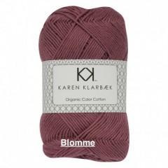 Karen Klarebæk Bomuld 8/4-Blomme 46