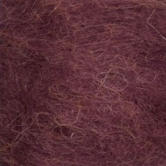 Børstet Alpakka - Blomme 4554