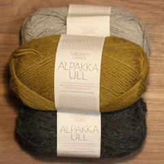 Alpakka Uld - 65% Alpakka 35% Uld