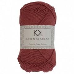 Karen Klarebæk Bomuld 8/4-Brick Rød 34