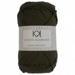 Karen Klarebæk Bomuld 8/4-Mørk Oliven 40