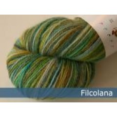 Indiecita - 100% alpakka-507 Earth Sea