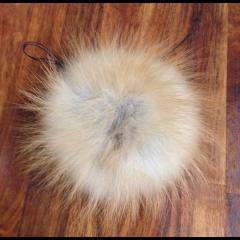 Lille ræve kvast 9-10 cm