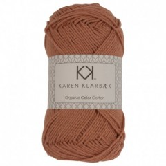 Karen Klarebæk Bomuld 8/4-Lys Nøddebrun 37