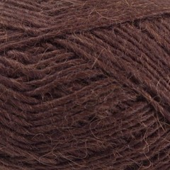 Lamauld fra CaMaRose-Mørkebrun