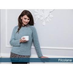 Delphinum- en enkel, feminin sweater