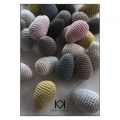 Hæklede æg - Karen Klarbæk