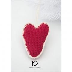 Hæklet Hjerte - Karen Klarbæk