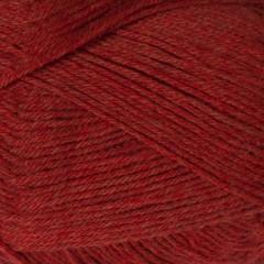 Yaku -100% kradsfri Merinould-Rød med orange 1809