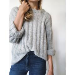 Striber på Langs sweater